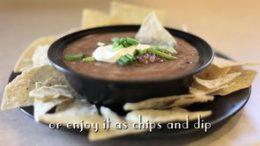 Black Bean & Salsa Soup or Dip