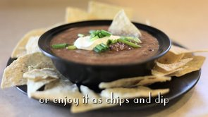 Black Bean & Salsa Soup or Dip