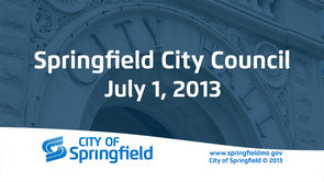 City Council – July 1, 2013
