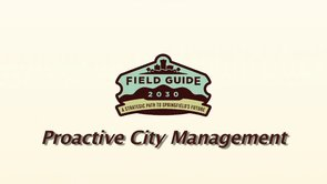 Field Guide 2030 – Proactive City Management
