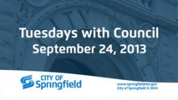 Tuesdays with Council – September 24, 2013