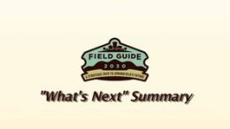 Field Guide 2030 – What's Next Summary