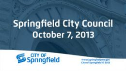 City Council – October 07, 2013