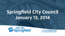 City Council Meeting – January 13, 2014