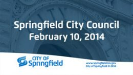 City Council Meeting – February 10, 2014