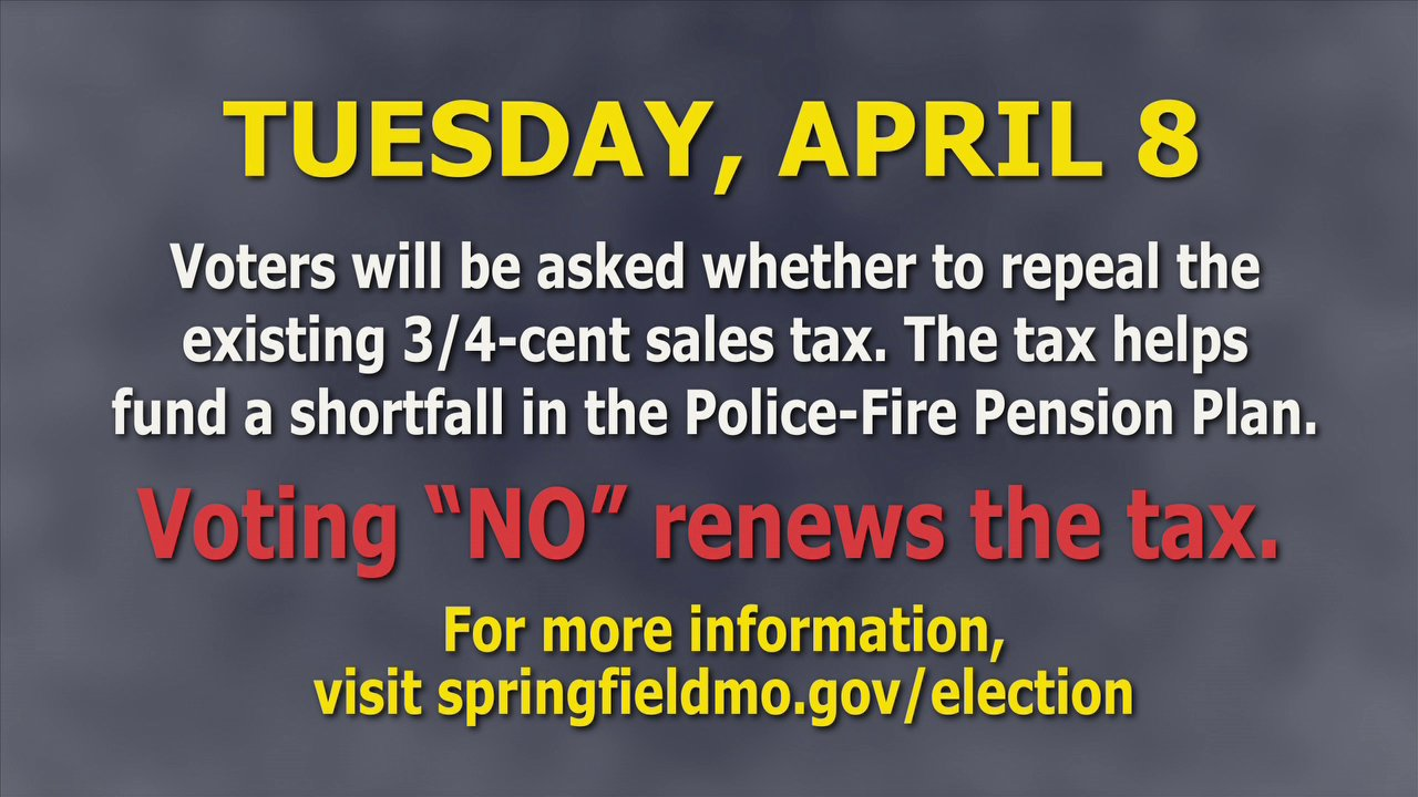 Springfield Fire Chief, David Hall – Police/Fire Pension Fund – Tuesday, April 8, 2014