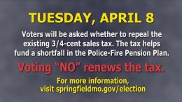 Springfield Police Chief, Paul Williams – Police/Fire Pension Fund – Tuesday, April 8, 2014