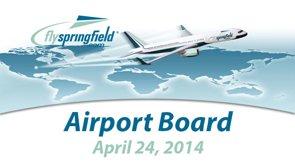 Airport Board – April 24, 2014