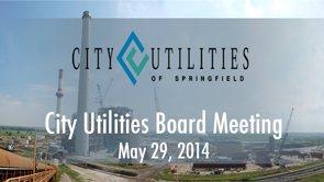 City Utilities Board – May 29, 2014