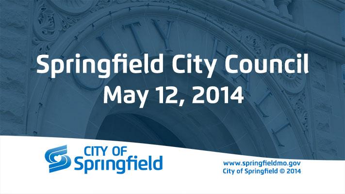 City Council Meeting – May 12, 2014