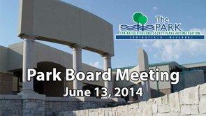 Park Board – June 13, 2014