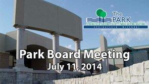 Park Board – July 11, 2014