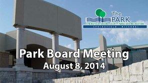 Park Board – August 8, 2014