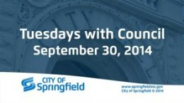 Tuesdays with Council – September 30, 2014