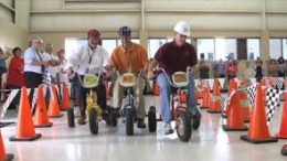 Tricycle Drag Race to raise money for the United Way