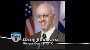 Take 5 with Doug Burlison