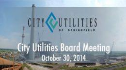 City Utilities Board – October 30, 2014
