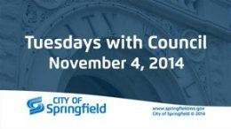 Tuesdays with Council – November 4, 2014