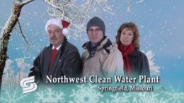 Northwest Clean Water Plant shares a holiday greeting