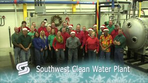 The Springfield Southwest Clean Water Plant Holiday Greeting