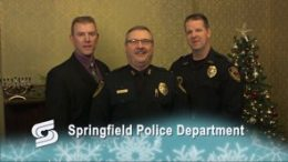 Springfield Police Dept. Holiday Greeting