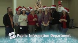 Holiday Greeting from the Public Information Department