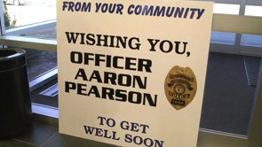 Officer Pearson's Departure