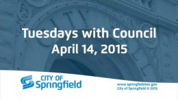 Tuesdays with Council – April 14, 2015