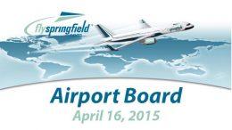 Airport Board – April 16, 2015