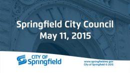 City Council Meeting – May 11, 2015