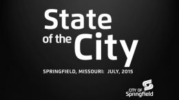 State of the City – July 9, 2015