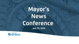 Mayor's News Conference