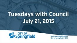 Tuesdays with Council – July 21, 2015