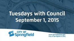 Tuesdays with Council – September 1, 2015