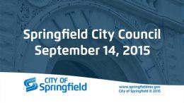 City Council – September 14, 2015