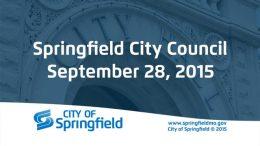 City Council – September 28, 2015