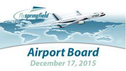 Airport Board – December 17, 2015