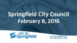 City Council Meeting – February 8, 2016
