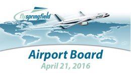 Airport Board – April 21, 2016