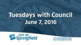 Tuesdays with Council – June 7, 2016