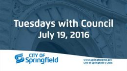 Tuesdays with Council – July 19, 2016