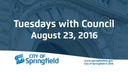 Tuesdays with Council – August 23, 2016
