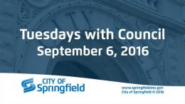 Tuesdays with Council – September 6, 2016