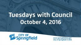 Tuesdays with Council – October 4, 2016