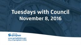 Tuesdays with Council – November 8, 2016