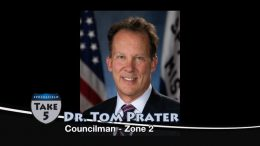 Take 5 with Dr. Tom Prater