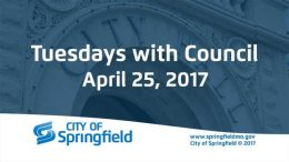 Tuesdays with Council – April 25, 2017