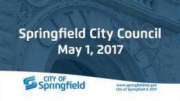 City Council Meeting – May 1, 2017