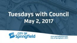 Tuesdays with Council – May 2, 2017