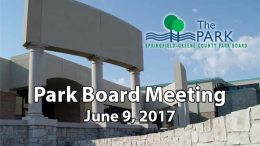 Park Board Meeting – June 9, 2017